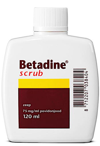 Betadine scrub 120  ML