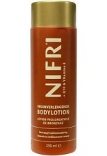 Nifri Body lotion bruinverlengend (250 ml)