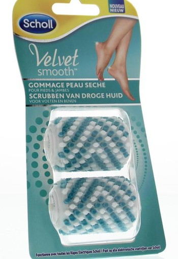Scholl Velvet smooth peeling brushes (2 stuks)