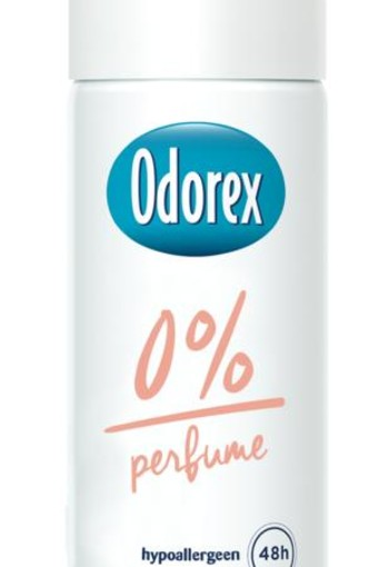 Odorex Body heat responsive spray 0% mini (50 ml)