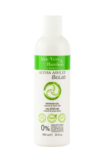 Alyssa Ashley Biolab aloe vera/bamboo shower gel (300 ml)