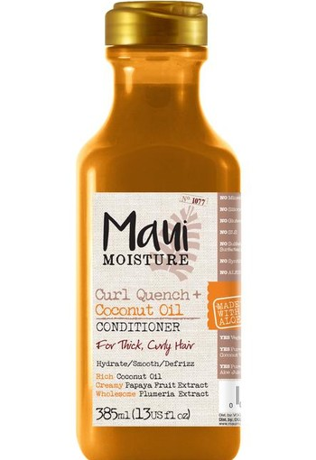 Maui Curl quench coconut oil conditioner (385 ml)