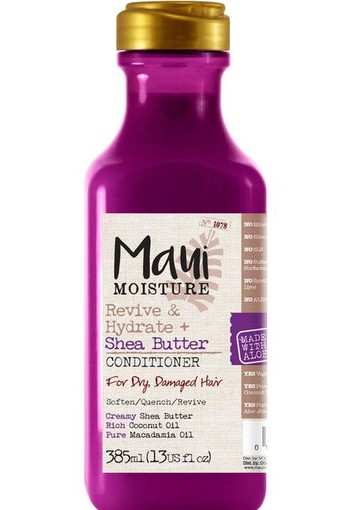 Maui Revive & hydrate shea butter conditioner (385 ml)