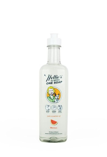 Nellie's One soap meloen (570 ml)