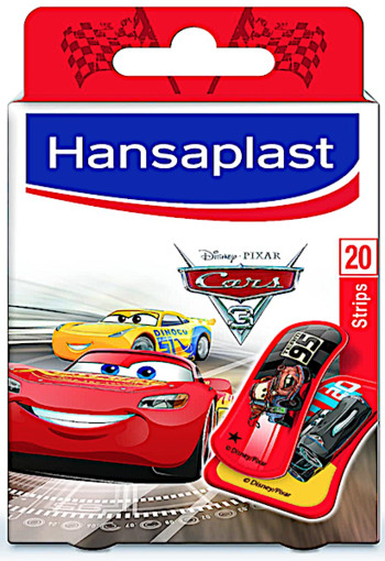 Hansaplast Pleister Strip Cars 20st