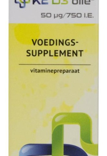 K2 Medical Care Vitamine K2 D3 olie (20 ml)