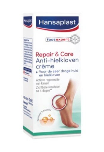 Hansaplast Repair/care Hielkloven Creme 40ml