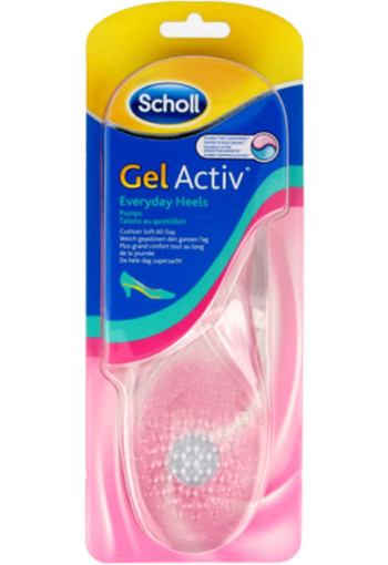 Scholl Gel Active Everyday Heels 1paar