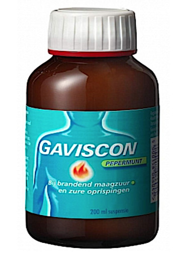 Gaviscon Pepermunt Liquid 200ml