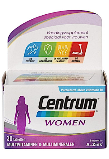 Centrum Multivitaminen Women Tabletten 30st