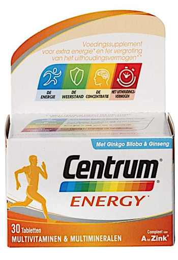Centrum Energy Tabletten 30st