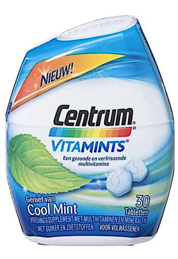 Centrum Cool Mint Vitamints 30 stuks