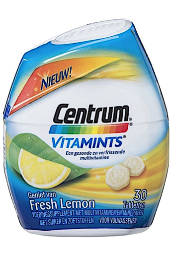 Centrum Lemon Vitamints 30 stuks