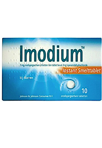 Imodium 2mg Smelt Tablet 10st