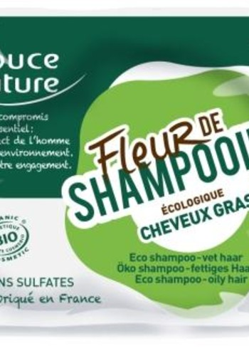 Douce Nature Shampoo bar vet haar bio (85 gram)