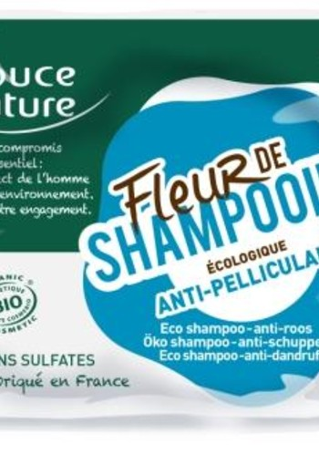 Douce Nature Shampoo bar anti roos (85 gram)