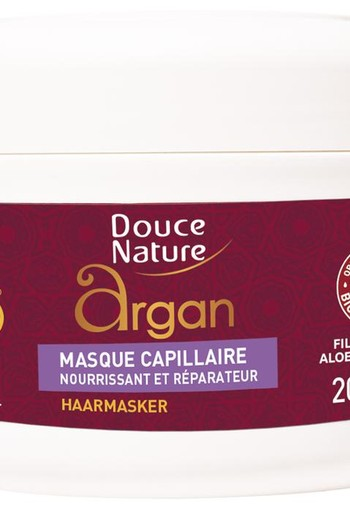Douce Nature Haarmasker capillaire argan (200 ml)