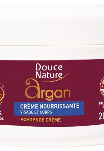 Douce Nature Voedende creme argan (200 ml)