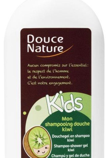 Douce Nature Douchegel & shampoo kids kiwi (300 ml)
