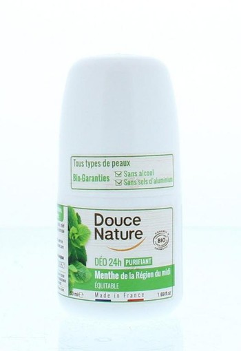 Douce Nature Deodorant roll on normale huid (50 ml)