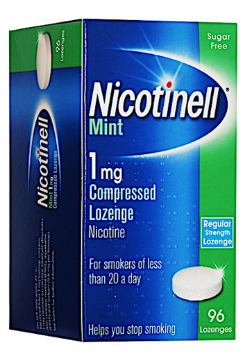 Nicotinell Lozenge Mint 1mg - 96 Lozenges