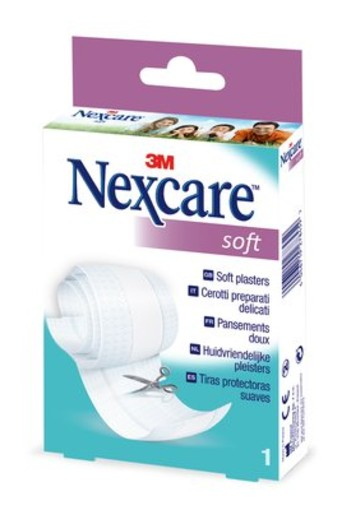 Nexcare Soft pleisters band (1 stuks)