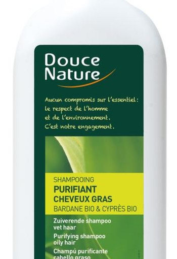 Douce Nature Shampoo vet haar zuiverend (300 ml)
