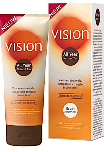 Vision All Year Natural Tan 150ml