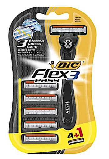 Bic Flex Easy Blister All-In-One Scheermes 5st