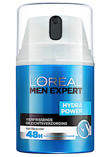 Loreal Paris Men Expert Hydra Power verfrissende gezichtsgel 50 ml
