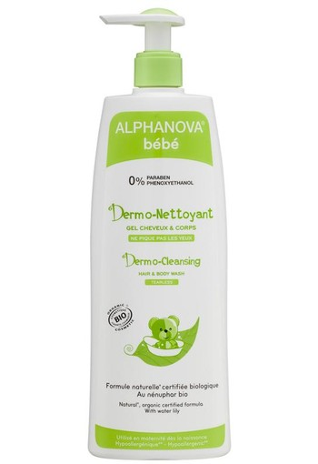 Alphanova Baby Bio dermo cleansing hair & body (500 ml)