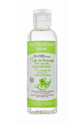 Alphanova Baby Bio organic massage olie (100 ml)