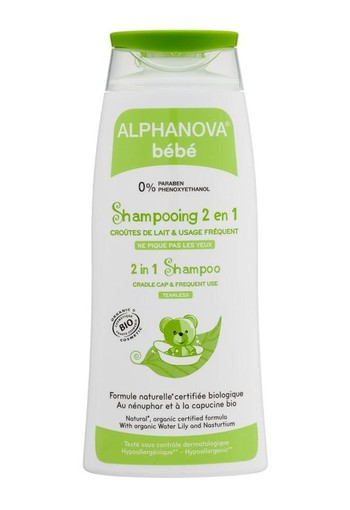 Alphanova Baby Shampoo 2 in 1 organic (200 ml)