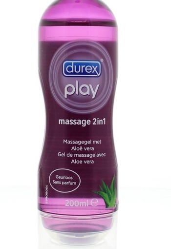 Durex Play massage 2/1 aloe vera (200 ml)
