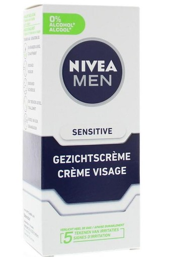 Nivea Men gezichtscreme sensitive (75 ml)