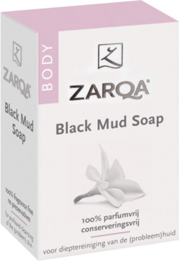 Zarqa Black Mud Zeep 100g