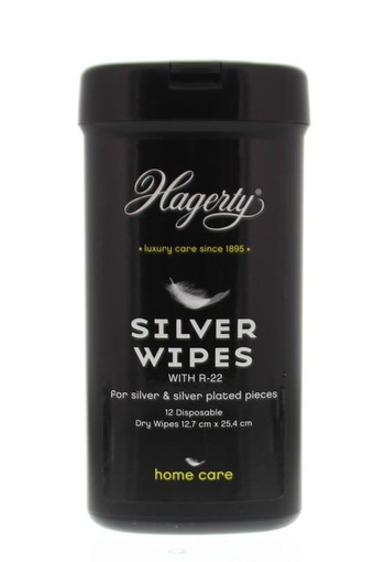 Hagerty Silver wipes (12 stuks)