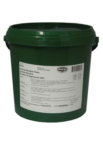 Morga Groentebouillon pasteus (5 kilogram)