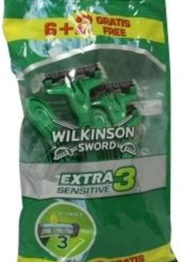 Wilkinson Extra III sensitive 6 + 2 (8 stuks)