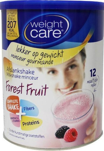 Weight Care Afslankshake bosvruchten (324 gram)
