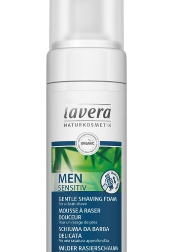 Lavera Men Sensitiv scheerschuim/shaving foam (150 ml)