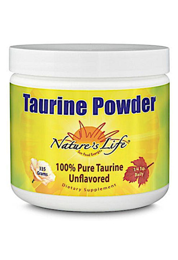 Natures Life Taurine Poeder 100% Puur 335g