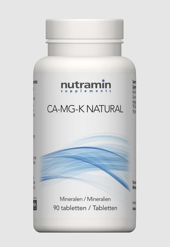 Nutramin NTM Ca Mg K (90 tabletten)