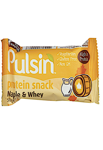 Pulsin Maple Whey Protein Bar 50gr