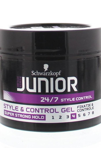 Schwarzkopf Junior style & control gel level 4 (150 ml)