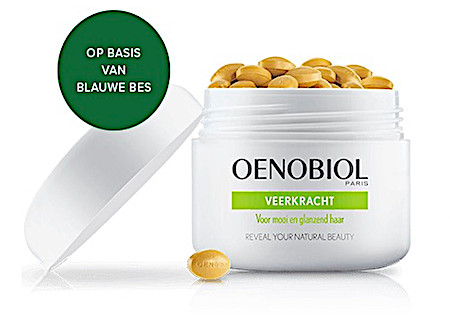 Oenobiol Paris Hair Support Veerkracht 180 capsules