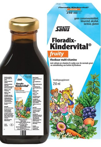 Salus Floradix kindervital fruity (250 ml)