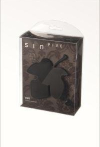 Sinfive Intimate massage eve shale black (1 stuks)