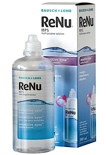 Bausch&Lomb ReNu MPS sensitive eyes - 240 ml - Lenzenvloeistof