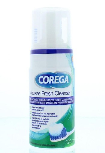 Corega Fresh cleanse mousse (125 ml)